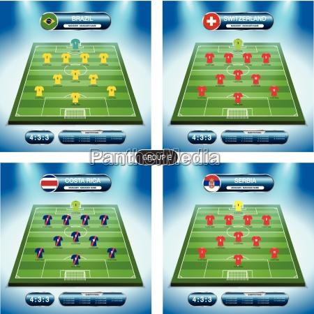 soccer team player plan group e