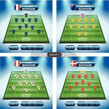 soccer team player plan group c