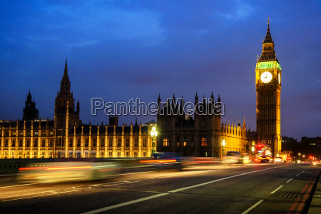 big ben clock tower and house