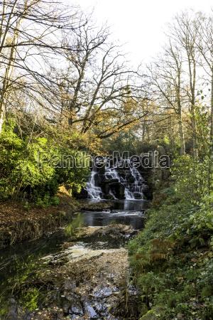 the ornamental cascade waterfall in virginia