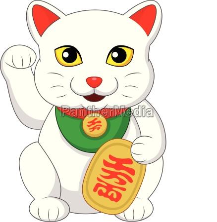 maneki neko japanese prosperity cat