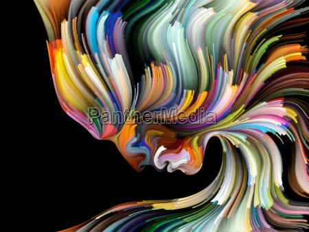visualization of inner palette