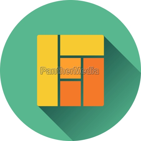 icon of parquet plank pattern