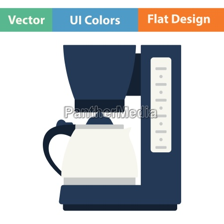 kitchen coffee machine icon