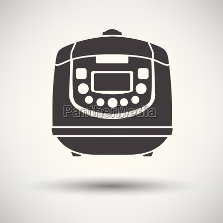 kitchen multicooker machine icon