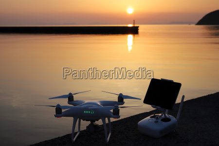 drone and remote controller tool for