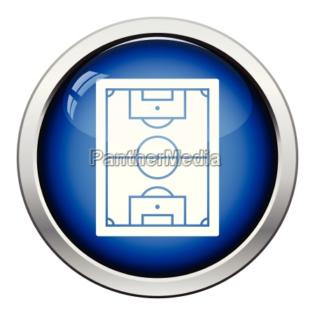 icon of football field