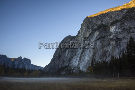 low angle view rock formation against