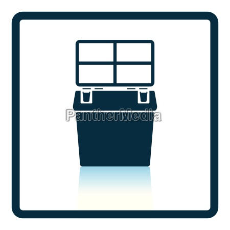 icon, of, fishing, opened, box - 24930566