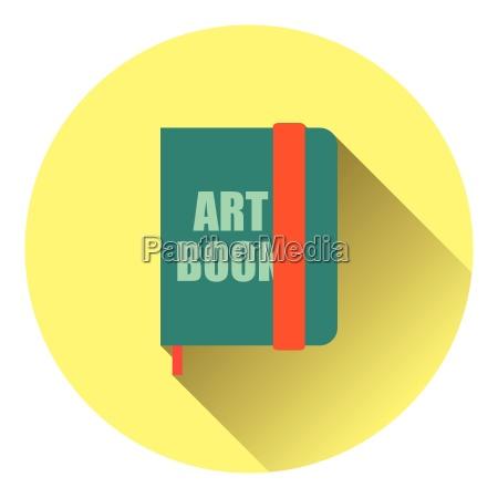 sketch book icon