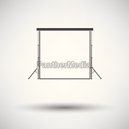 icon of studio photo background