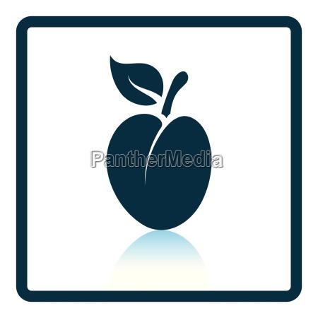 icon, of, plum - 24939880