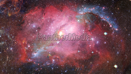 spiral galaxy in space elements of