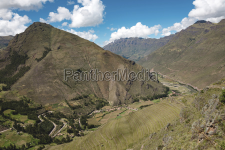 scenic view of sacred valley against