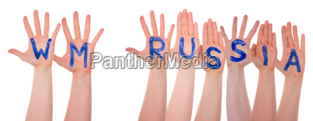 hands with wm russia means russia