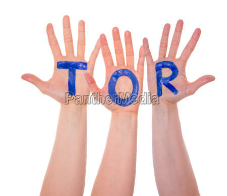 hands with tor means goal isolated