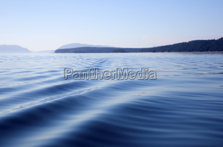 surface view of ocean with gentle