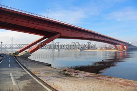 gazela bridge belgrade