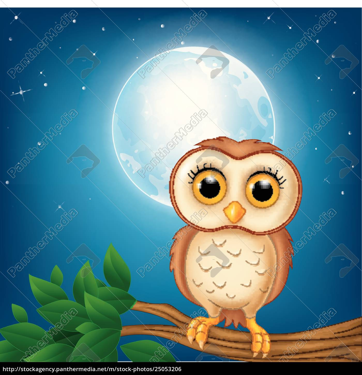 Cartoon Owl On The Tree Branch Stock Image 25053206 Panthermedia Stock Agency See more ideas about owl, owl cartoon, owl crafts. https stockagency panthermedia net m stock photos 25053206 cartoon owl on the tree branch