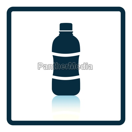 icon of water bottle