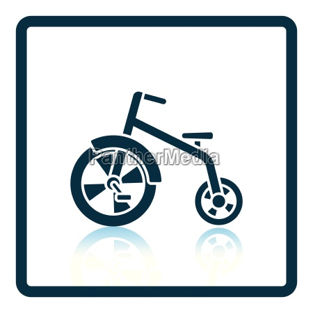 baby trike icon
