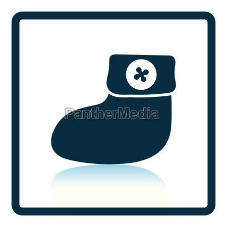 baby bootie icon