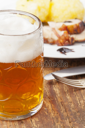 bavarian roast pork with beer and