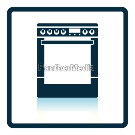 kitchen main stove unit icon