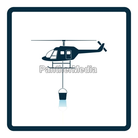 fire service helicopter icon