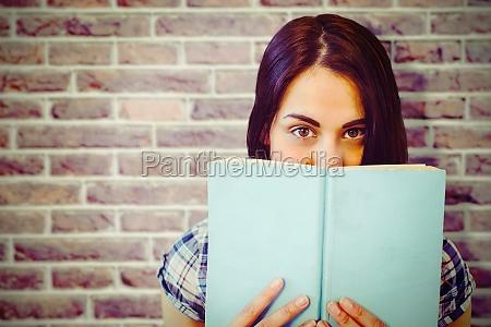 composite image of close up portrait