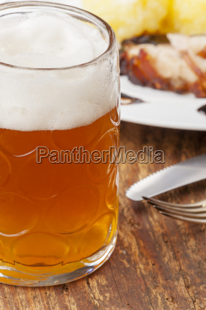 bavarian pork roast with beer and