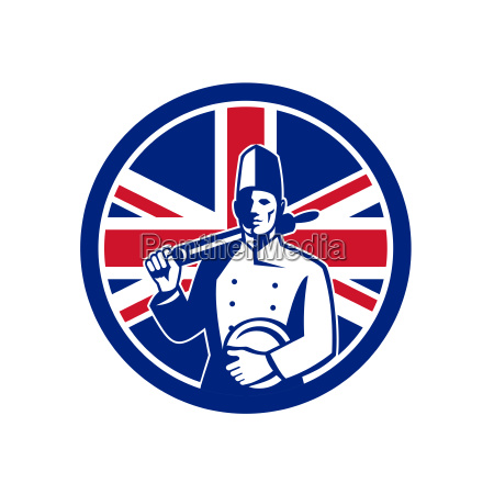 british baker union jack flag icon