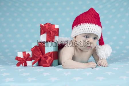 happy, santa, christmas, baby - 25105926