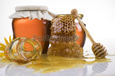 jar, of, liquid, honey - 25105886