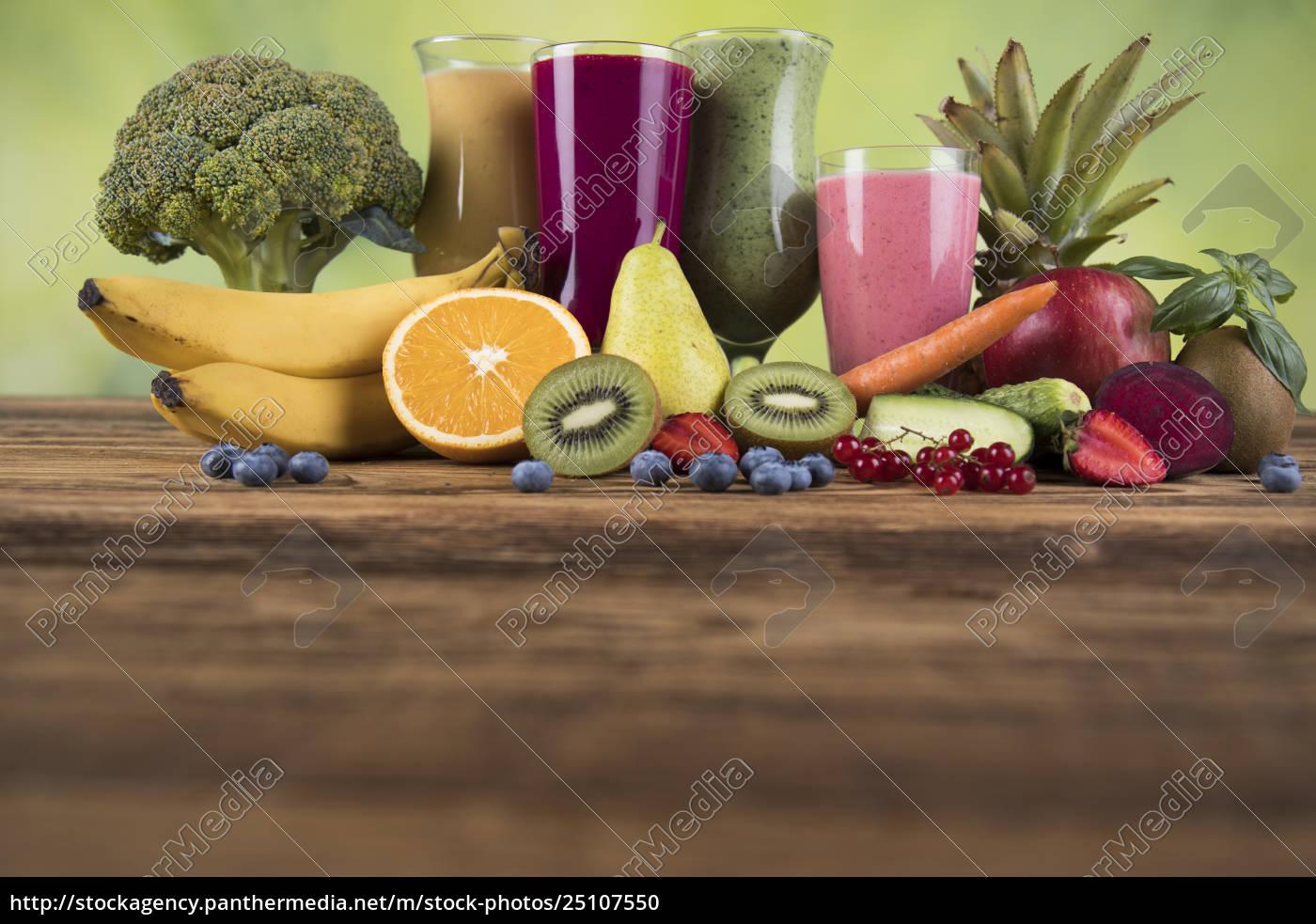 sport, diet, cocktails, , , fitness, , wooden, background - 25107550