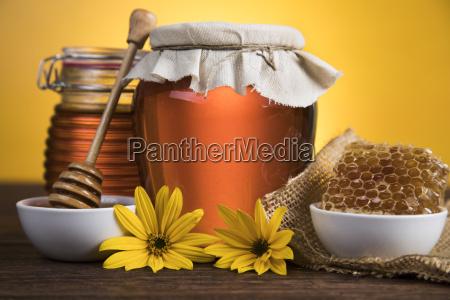 jar, of, liquid, honey - 25113072