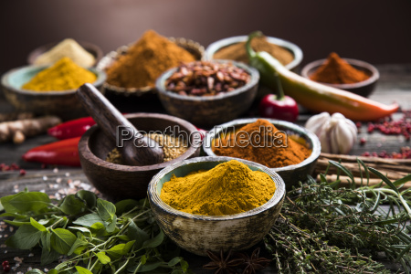 a, selection, of, various, colorful, spices - 25119630