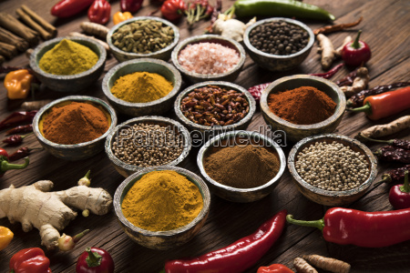 a, selection, of, various, colorful, spices - 25120534