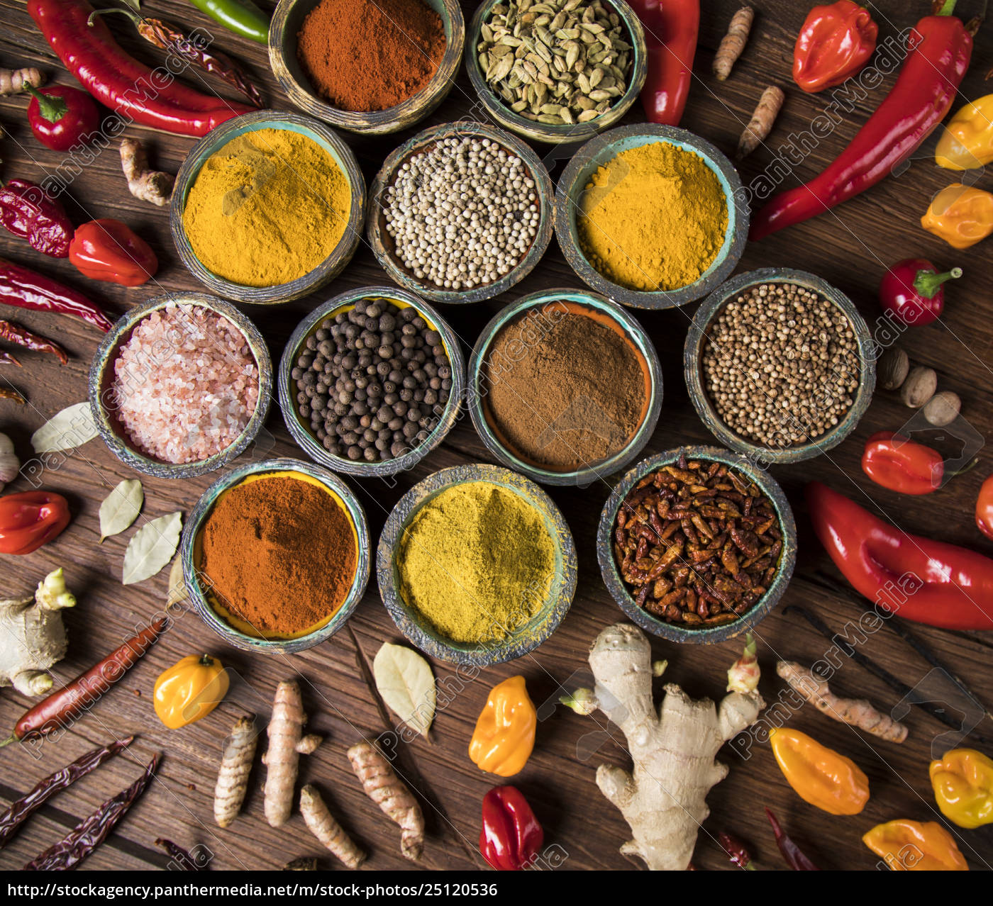 a, selection, of, various, colorful, spices - 25120536