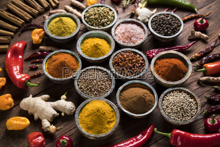a, selection, of, various, colorful, spices - 25120672