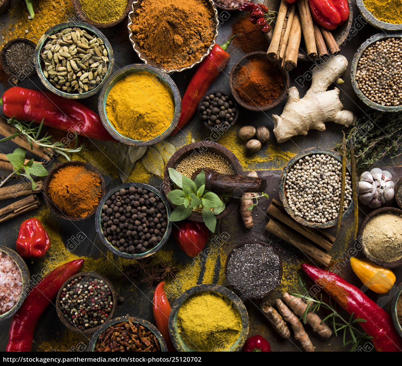 a, selection, of, various, colorful, spices - 25120702
