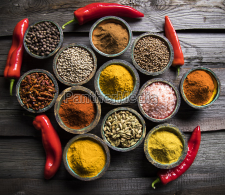 various, spices, selection - 25120328