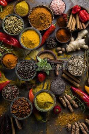 a, selection, of, various, colorful, spices - 25121860