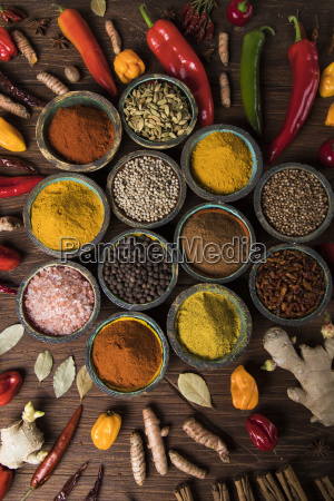 various, spices, selection - 25122032