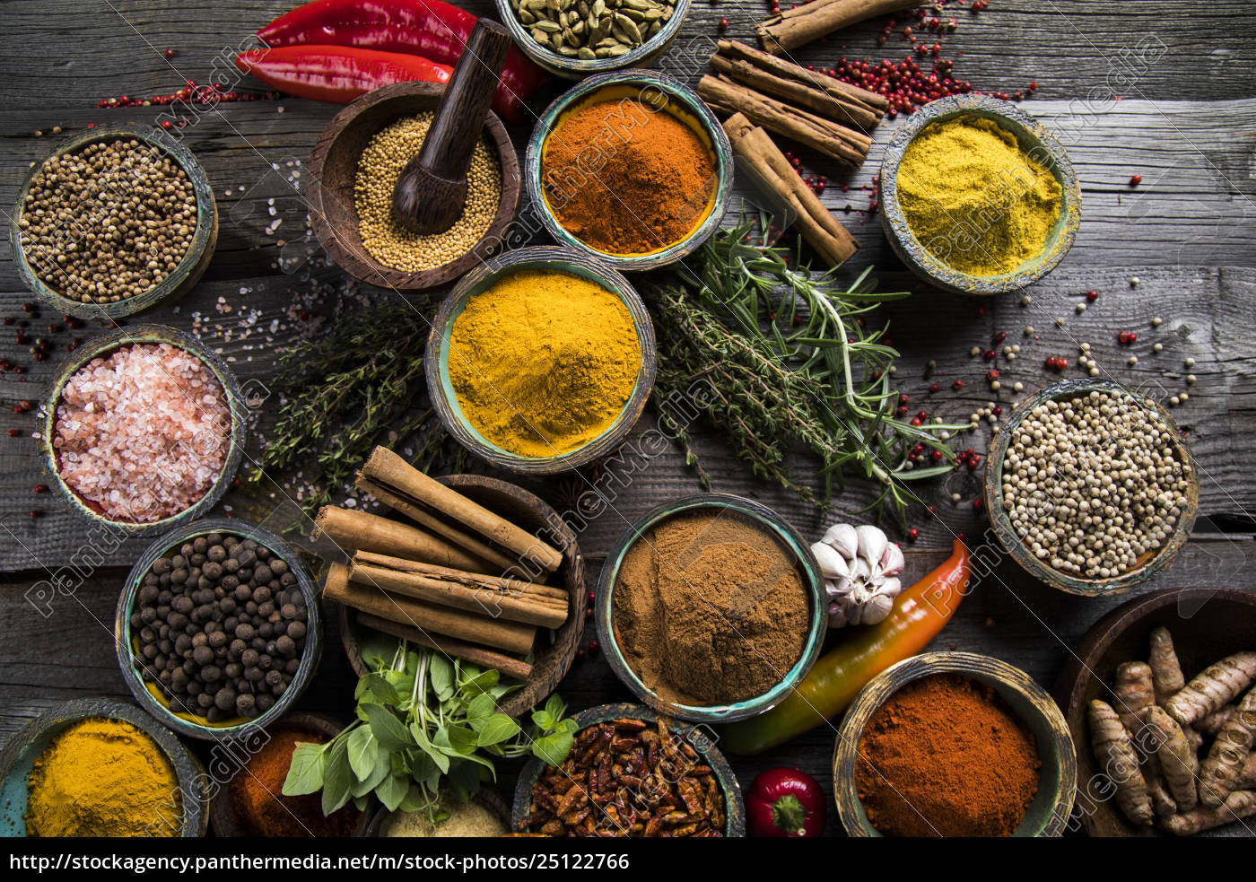 various, spices, selection - 25122766