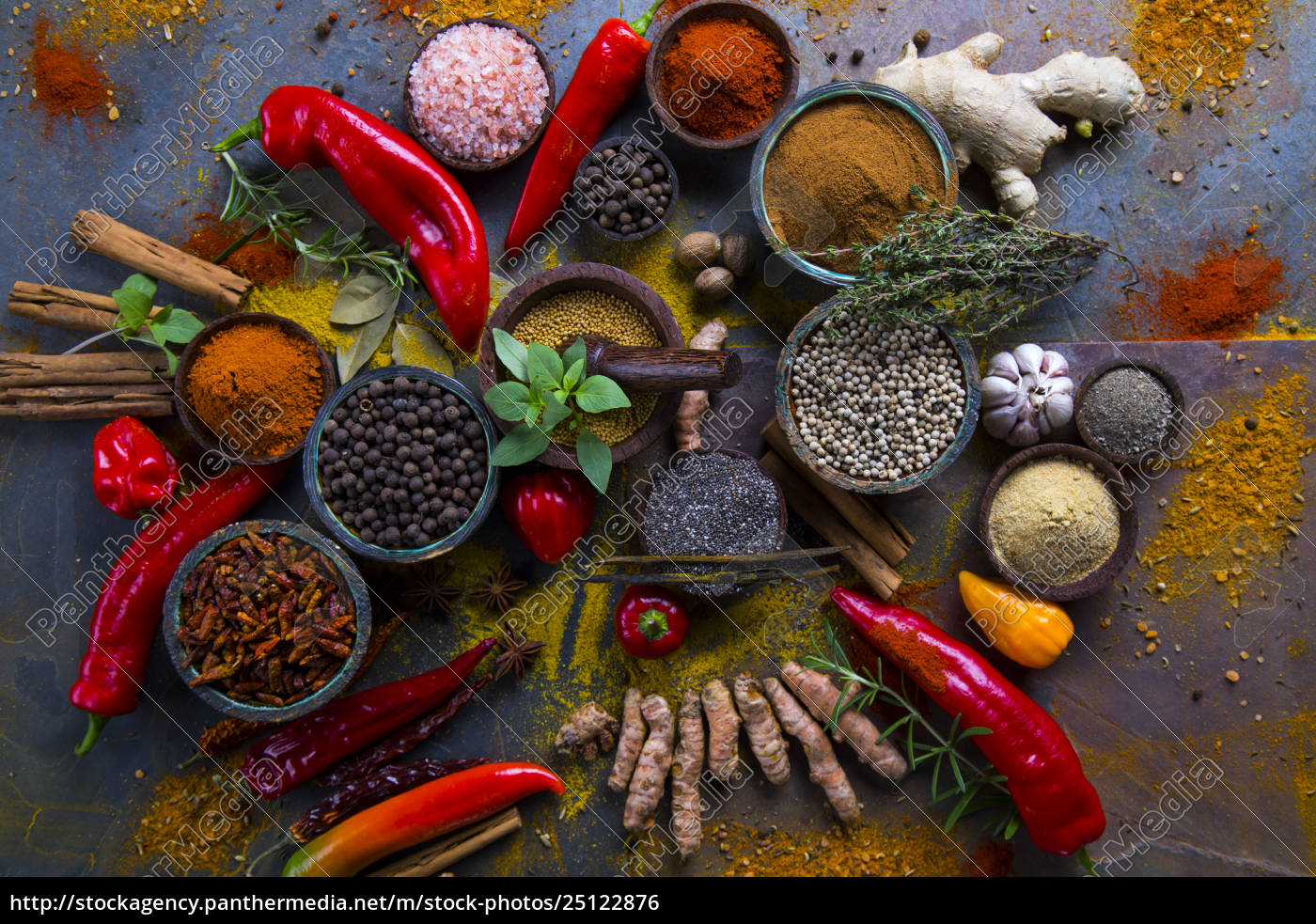 various, spices, selection - 25122876