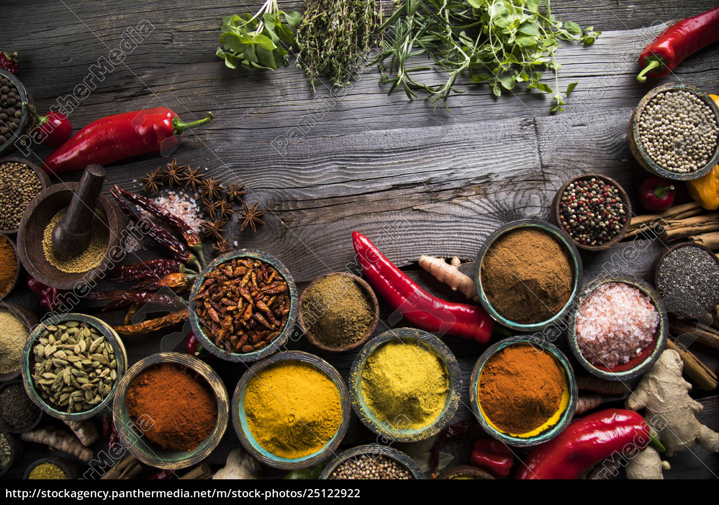 various, spices, selection - 25122922