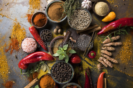 a, selection, of, various, colorful, spices - 25124584