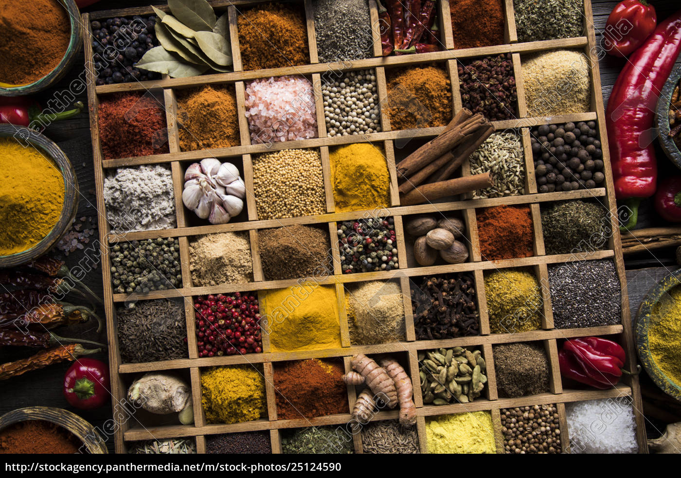 close-up, of, different, types, of, assorted - 25124590