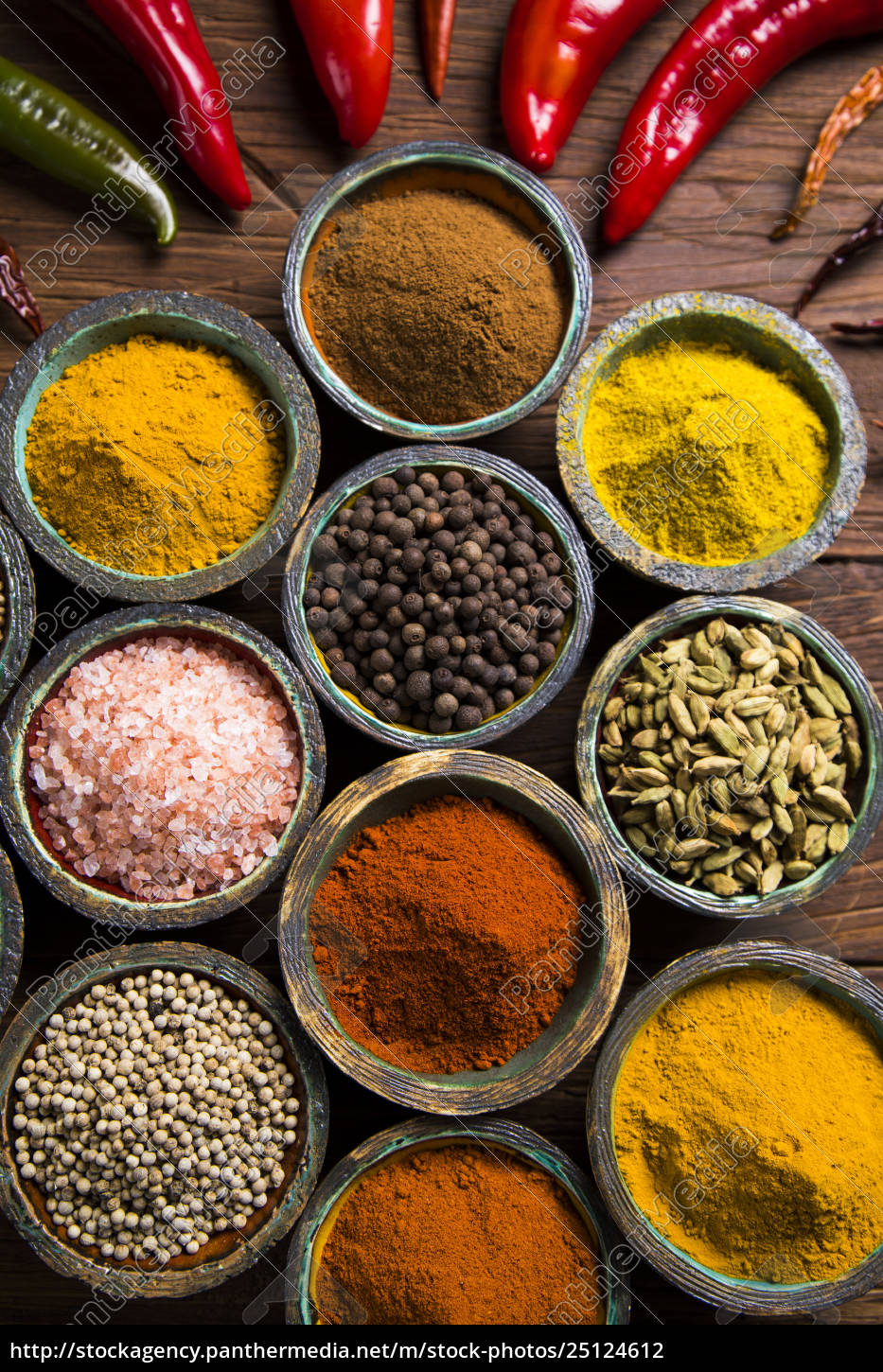various, spices, selection - 25124612